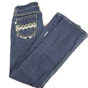 Coogi Boot Cut Embroidered Jeans